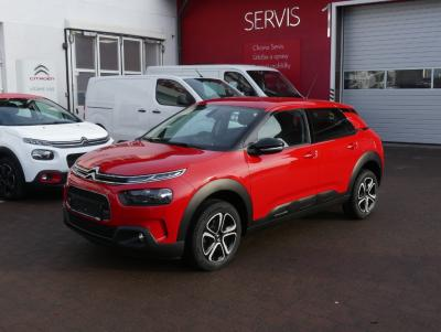 C4 Cactus 1,5 BlueHDI 100 Feel Pack červená